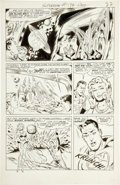Original Comic Art:Panel Pages, Wayne Boring Superman #189 page 19 Original Art (DC,1966)....