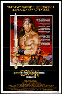 """Conan the Destroyer (Universal, 1984). One Sheet (27"""" X 41""""). Action"""