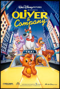 "Movie Posters:Animated, Oliver & Company (Buena Vista, 1988 and R-1996). One Sheet (2) (27"" X 41"") and (27"" X 40"") SS and DS. Animated.. ... (Total: 2 Items)"