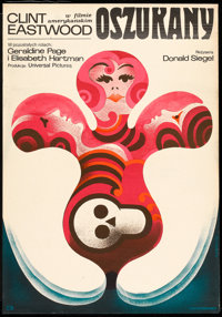 """The Beguiled (Universal, 1971). Polish One Sheet (23"""" X 33""""). Thriller"""