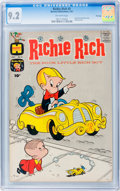 Silver Age (1956-1969):Humor, Richie Rich #5 File Copy (Harvey, 1961) CGC NM- 9.2 Off-white pages....