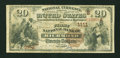 National Bank Notes:Virginia, Richmond, VA - $20 1882 Brown Back Fr. 494 The First NB Ch. #(S)1111. ...
