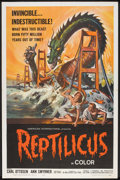 "Movie Posters:Science Fiction, Reptilicus (American International, 1962). One Sheet (27"" X 41"").Science Fiction.. ..."
