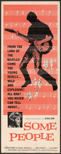 """Movie Posters:Rock and Roll, Some People (Anglo Amalgamated, 1964). Insert (14"""" X 36""""). Rock andRoll.. ..."""
