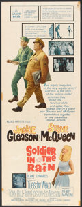 "Movie Posters:Comedy, Soldier in the Rain (Allied Artists, 1964). Insert (14"" X 36"").Comedy.. ..."