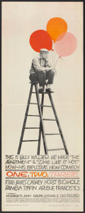 "Movie Posters:Comedy, One, Two, Three (United Artists, 1962). Insert (14"" X 36"").Comedy.. ..."