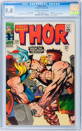 Silver Age (1956-1969):Superhero, Thor #126 (Marvel, 1966) CGC NM 9.4 Off-white to white pages....