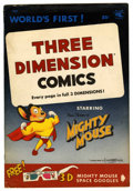 Golden Age (1938-1955):Cartoon Character, Mighty Mouse 3-D #1 (St. John, 1953) Condition: VG+....