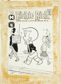 Original Comic Art:Covers, Warren Kremer Richie Rich #47 Cover Original Art (Harvey,1966)....