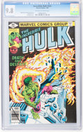 Modern Age (1980-Present):Superhero, The Incredible Hulk #243-245 CGC-Graded Group (Marvel, 1980) CGCNM/MT 9.8.... (Total: 3 Comic Books)