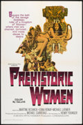 "Movie Posters:Adventure, Prehistoric Women (20th Century Fox, 1966). One Sheet (27"" X 41"").Adventure.. ..."