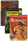 Golden Age (1938-1955):Romance, Miscellaneous Golden Age Romance Comics Group (Various Publishers,1949-63) Condition: Average VG+.... (Total: 15 Comic Books)