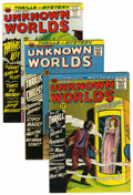 Silver Age (1956-1969):Horror, Unknown Worlds Circle 8 Pedigree Group (ACG, 1964-67) Condition:Average VF.... (Total: 8 Comic Books)