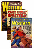Pulps:Miscellaneous, Assorted Western and Detective Pulps (Various Publishers, 1949-50) Condition: Average VG-.... (Total: 8 Comic Books)