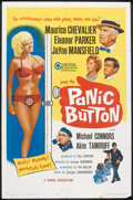 "Movie Posters:Comedy, Panic Button (Gorton Associates, 1964). One Sheet (27"" X 41""). Comedy.. ..."