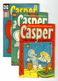 Golden Age (1938-1955):Cartoon Character, Casper the Friendly Ghost File Copy Group (Harvey, 1953-55)Condition: Average GD.... (Total: 9 Comic Books)