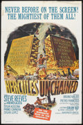 "Movie Posters:Adventure, Hercules Unchained (Warner Brothers, 1959). One Sheet (27"" X 41"").Adventure.. ..."