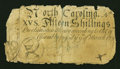 Colonial Notes:North Carolina, North Carolina March 9, 1754 15s Good-Very Good....