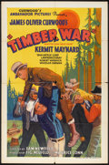 """Movie Posters:Western, Timber War (Ambassador Pictures, 1935). One Sheet (27"""" X 41"""").Western.. ..."""