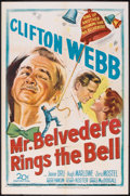 "Movie Posters:Comedy, Mr. Belvedere Rings the Bell (20th Century Fox, 1951). One Sheet (27"" X 41""). Comedy.. ..."