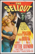 "Movie Posters:Crime, The Sellout (MGM, 1952). One Sheet (27"" X 41""). Crime.. ..."