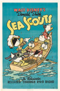 "Movie Posters:Animated, Sea Scouts (RKO, 1939). One Sheet (27"" X 41"").. ..."