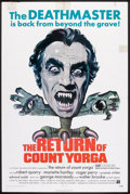 "Movie Posters:Horror, The Return of Count Yorga (American International, 1971). One Sheet (27"" X 41""). Horror.. ..."