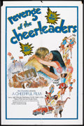 "Movie Posters:Sexploitation, Revenge of the Cheerleaders (Monarch, 1976). One Sheet (27"" X 41"").Sexploitation.. ..."