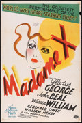 "Movie Posters:Drama, Madame X (MGM, 1937). One Sheet (27"" X 41"") Style C. Drama.. ..."