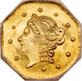 California Fractional Gold, 1871 50C Liberty Octagonal 50 Cents, BG-910, High R.5, MS66Prooflike NGC....
