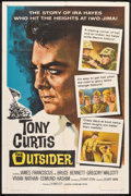 "Movie Posters:War, The Outsider (Universal, 1962). One Sheet (27"" X 41""). War.. ..."