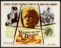 "Movie Posters:Science Fiction, Village of the Damned (MGM, 1960). Half Sheet (22"" X 28""). Science Fiction.. ..."