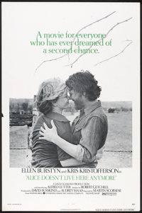 """Alice Doesn't Live Here Anymore (Warner Brothers, 1974). One Sheet (27"""" X 41"""") Flat-Folded. Drama"""
