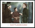 "Movie Posters:War, Battleground (MGM, R-1962). Lobby Cards (7) (11"" X 14""). War.. ...(Total: 7 Items)"