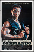 """Movie Posters:Action, Commando (20th Century Fox, 1985). One Sheet (27"""" X 41""""). Action.. ..."""