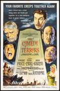"""Movie Posters:Horror, The Comedy of Terrors (American International, 1963). One Sheet (27"""" X 41""""). Horror.. ..."""