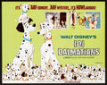 "Movie Posters:Animated, 101 Dalmatians (Buena Vista, R-1969). Lobby Card Set of 9 (11"" X14""). Animated.. ... (Total: 9 Items)"
