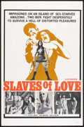 "Movie Posters:Sexploitation, Slaves of Love (Manson Distributing, 1970). One Sheet (27"" X 41"").Sexploitation.. ..."