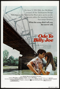 "Ode to Billy Joe Lot (Warner Brothers, 1976). One Sheets (2) (27"" X 41""). Drama. ... (Total: 2 Items)"