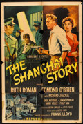 """Movie Posters:Mystery, The Shanghai Story (Republic, 1954). One Sheet (27"""" X 41"""")Mystery.. ..."""