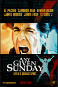 "Movie Posters:Sports, On Any Given Sunday (Warner Brothers, 1999). One Sheet (27"" X 40"") DS. Sports.. ..."