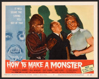 "How to Make a Monster (American International, 1958). Lobby Card Set of 8 (11"" X 14""). Horror. ... (Total: 8 I..."