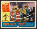 "Movie Posters:Rock and Roll, Shake, Rattle and Rock (American International, 1956). Lobby Cards(7) (11"" X 14""). Rock and Roll.. ... (Total: 7 Items)"