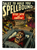 Golden Age (1938-1955):Horror, Spellbound #1 (Atlas, 1952) Condition: VG....