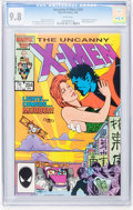 Modern Age (1980-Present):Superhero, X-Men #204, 205, and 211 CGC-Graded Group (Marvel, 1986) Condition:CGC NM/MT 9.8 White pages.... (Total: 3 Comic Books)