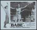 "Movie Posters:Sports, Babe:The Babe Didrikson Story (MGM, 1975). Australian Lobby Cards (3) (11"" X 14""). Sports.. ... (Total: 3 Items)"