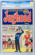 Golden Age (1938-1955):Humor, Archie's Pal Jughead #1 (Archie, 1949) CGC VF+ 8.5 Cream to off-white pages....