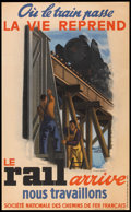 """Movie Posters:Miscellaneous, French National Railways Poster (SNCF, 1944). French Poster (24"""" X 39""""). Travel.. ..."""