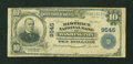 National Bank Notes:District of Columbia, Washington, DC - $10 1902 Plain Back Fr. 626 The District NB Ch. # 9545. ...