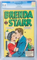 Golden Age (1938-1955):Crime, Brenda Starr V2#11 (Superior, 1949) CGC NM 9.4 Off-white pages....
